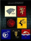 Game of Thrones House Sigil Magnet Set (Toy)