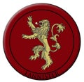 Game of Thrones Embroidered Patch: Lannister (Hardcover)