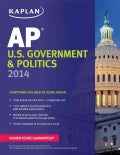 Kaplan AP U.S. Government & Politics 2014 (Paperback)