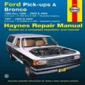 Haynes Ford Pick-ups & Bronco: 1980 thru 1996 2WD & 4WD Full-Size F-100 Thru F-350 Gasoline Engines; 1997 2WD & 4... (Paperback)