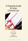 A Fingertip Guide to Scots Criminal Law (Paperback)