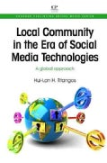 Local Community in the Era of Social Media Technologies: A Global Approach (Paperback)