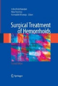 Surgical Treatment of Hemorrhoids (Paperback)