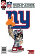 NFL Rush Zone: Season of the Guardians 1: New York Giants: Variant Edition (Paperback)