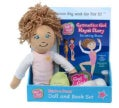 Gymnastics Girl Maya's Story: Becoming Brave: Read & Play Doll and Book Set