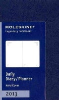 Moleskine Prussian Blue Extra Small 2013 Daily Planner (Calendar)