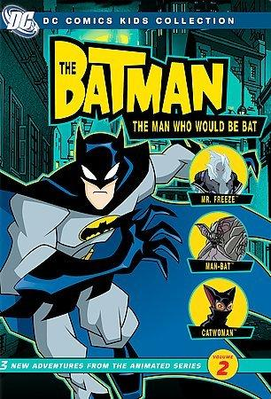 The Batman: The Man Who Would Be Bat - Season 1 Vol 2 (DVD)