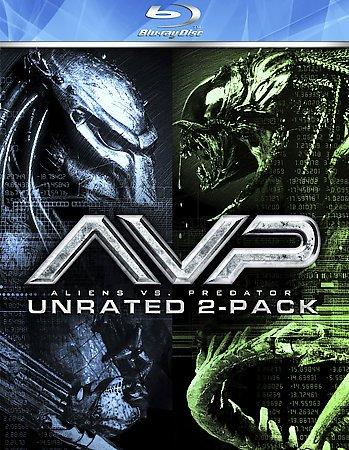 Alien Vs. Predator 1 & 2 (Blu-ray Disc)