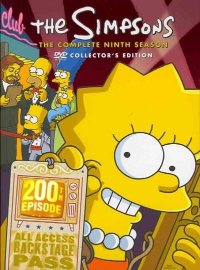 The Simpsons: The Complete Ninth Season (DVD)