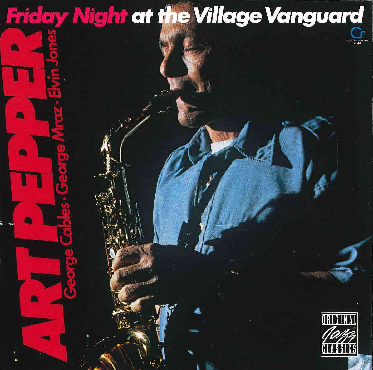 Art Pepper - Friday Night at Village Vanguard