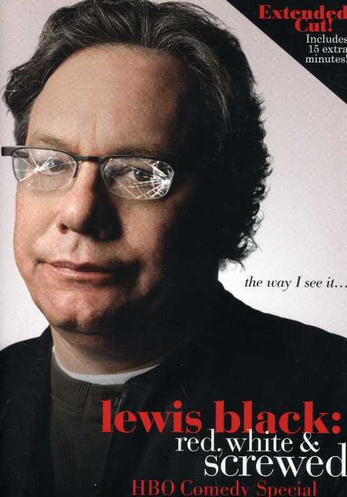 Lewis Black: Red, White and Screwed (DVD)