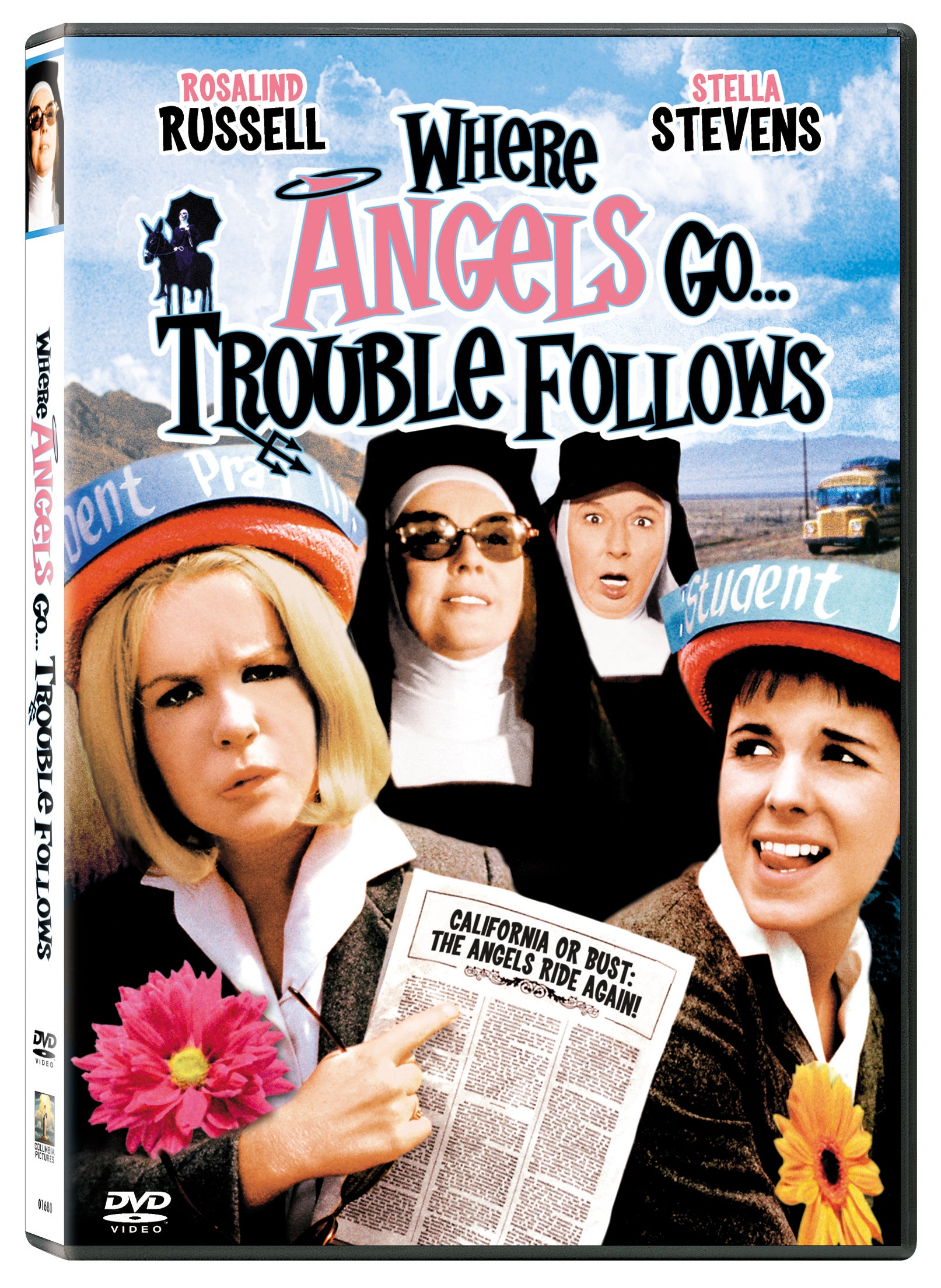 Where Angels Go Trouble Follows (DVD)