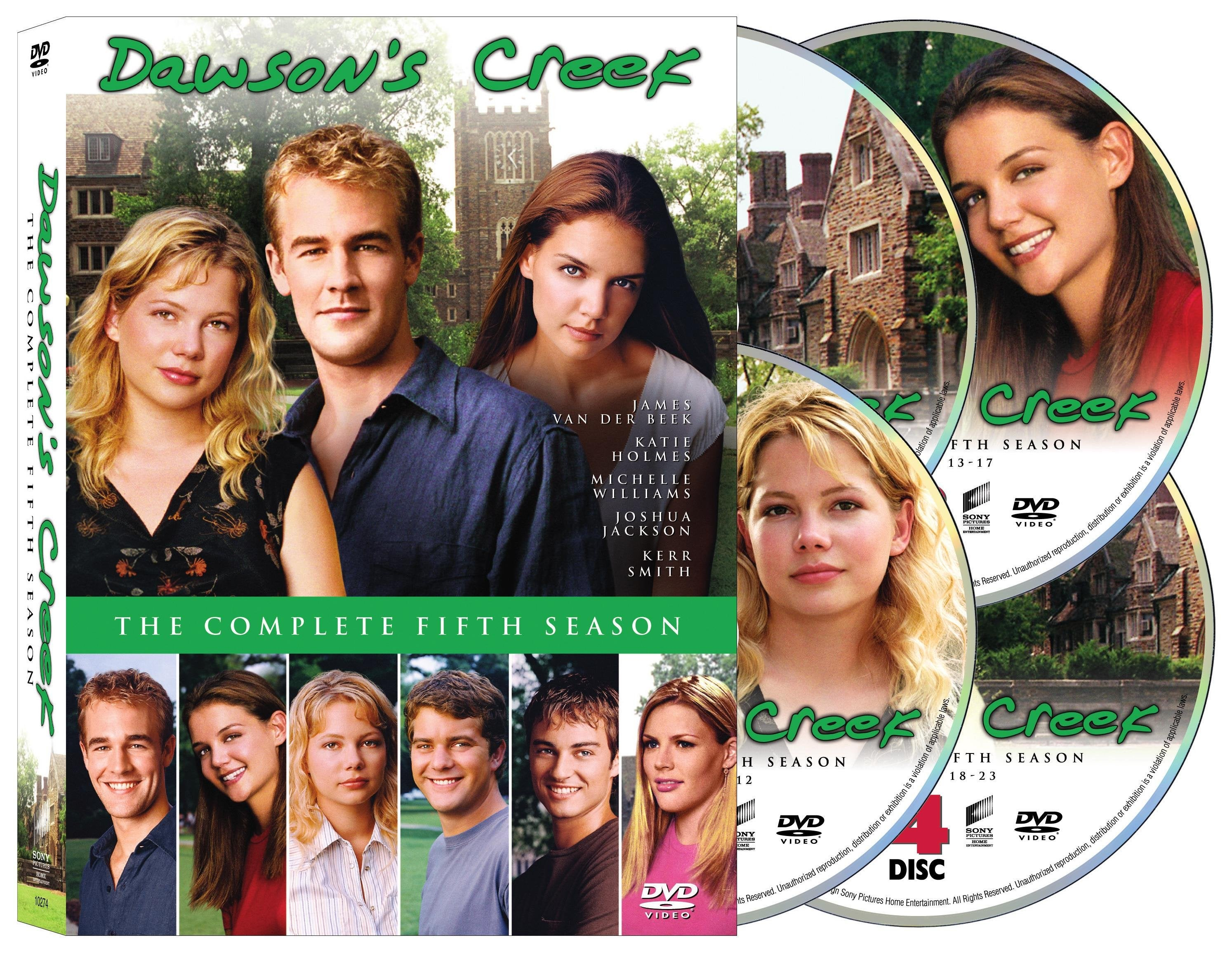 Dawson's Creek: The Complete Fifth Season (DVD)