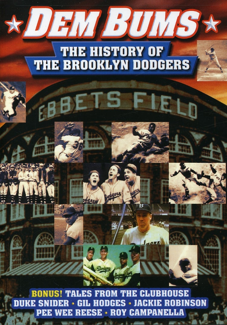 """Baseball - """"Dem Bums"""" The History of The Brooklyn Dodgers (DVD)"""