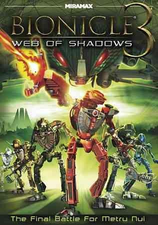 Bionicle 3: Web Of Shadows (DVD)