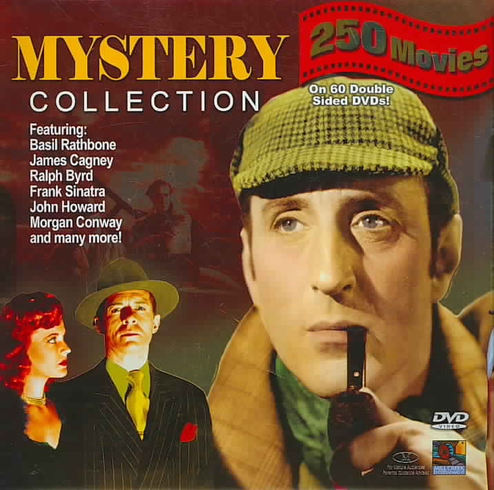 Mystery Collection - 250 Movie Pack (DVD)