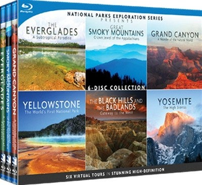 National Parks Exploration Series: The Complete Collection (Blu-ray Disc)