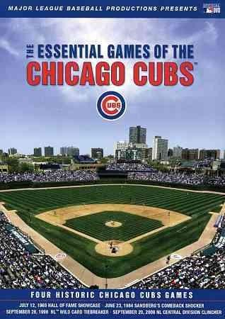 Essential Games of the Chicago Cubs (DVD)