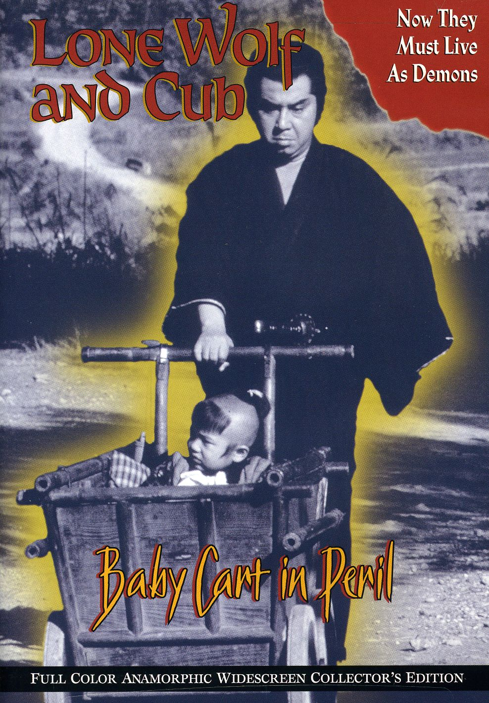 Lone Wolf And Cub: Baby Cart In Peril (DVD)