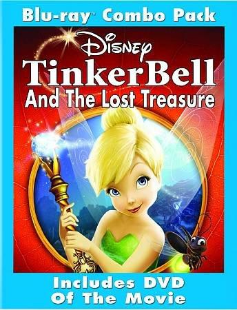 Tinker Bell And The Lost Treasure (Blu-ray Disc)