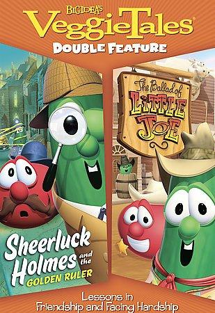 Veggie Tales: Sheerluck Holmes and the Golden Ruler/The Ballad of Little Joe (DVD)