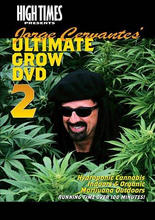 High Times Presents Jorge Cervantes: Grow DVD 2 (DVD)