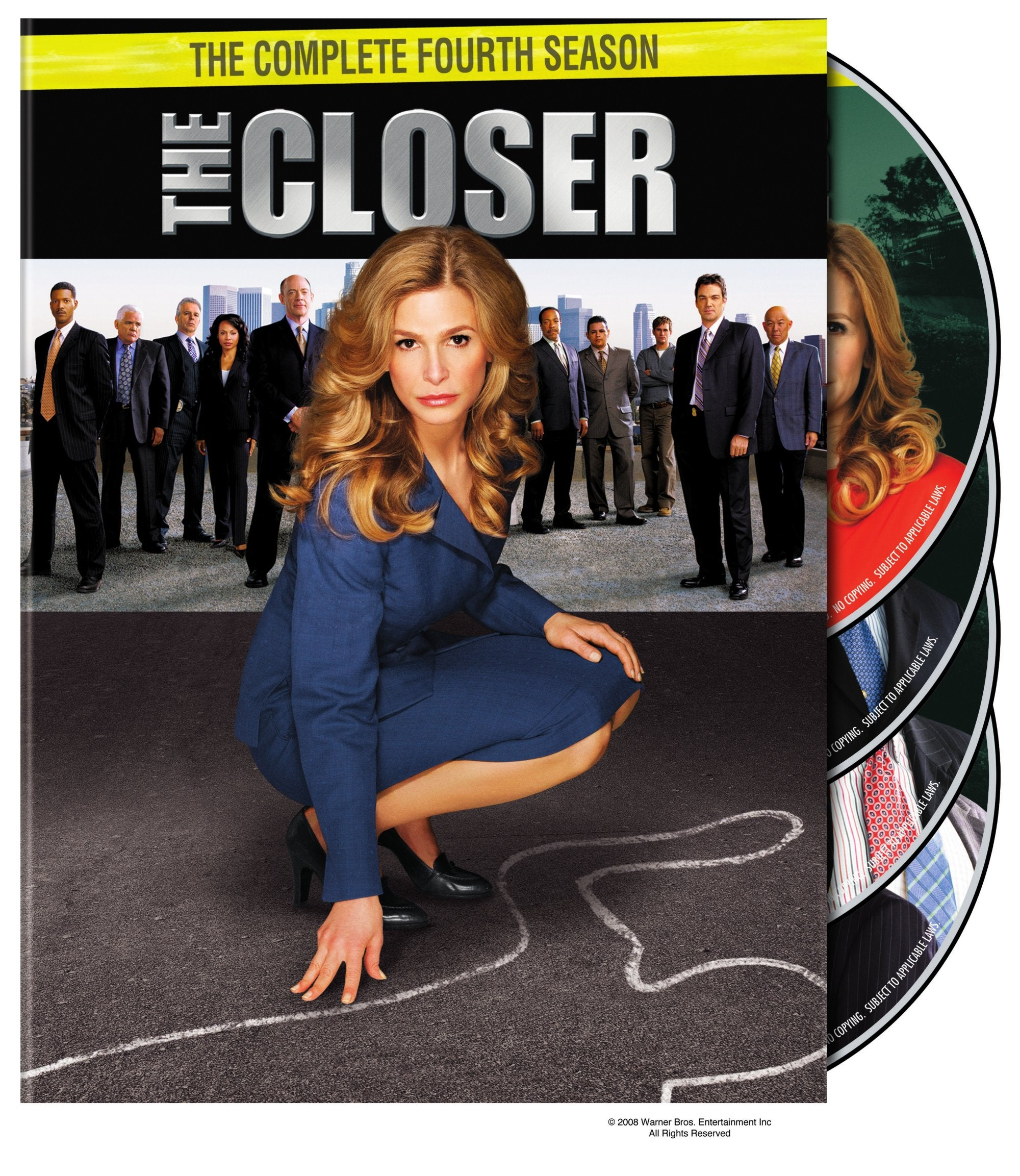 The Closer: The Complete Fourth Season (DVD)