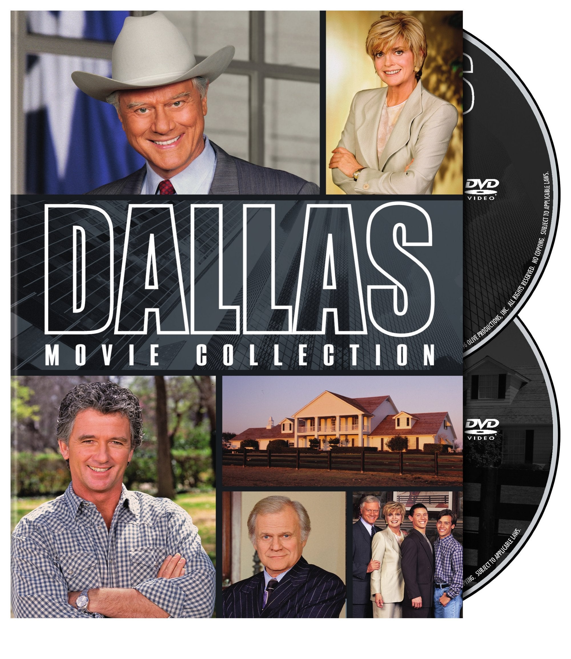Dallas: The Movie Collection (DVD)