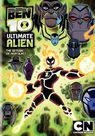 Ben 10 Ultimate Alien: The Return Of Heatblast (DVD)