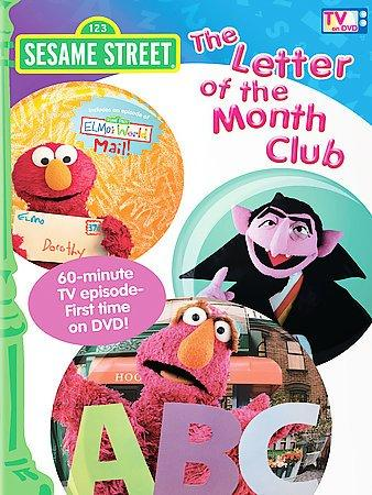 Sesame Street: The Letter of the Month Club (DVD)