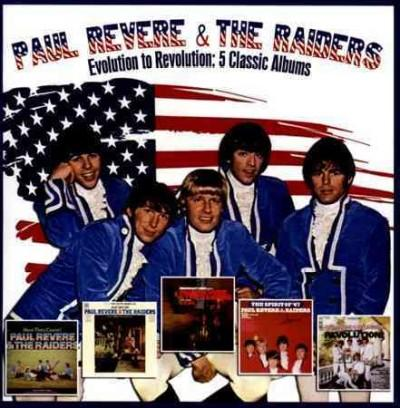Paul & The Raiders Revere - Evolution to Revolution