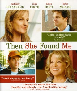 Then She Found Me (Blu-ray Disc)