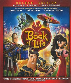The Book Of Life 3D (Blu-ray/DVD)