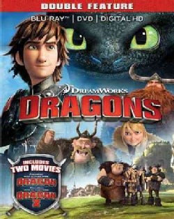 How To Train Your Dragon/How To Train Your Dragon 2 (Blu-ray/DVD)