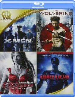 X-Men/The Wolverine/Elektra/Daredevil (Blu-ray Disc)