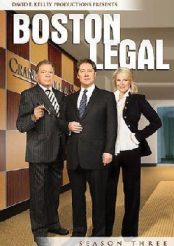 Boston Legal: Season 3 (DVD)