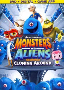 Monsters Vs. Aliens: Cloning Around (DVD)