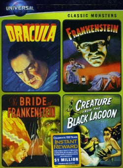 Classic Monsters Spotlight Collection (DVD)