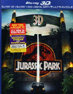 Jurassic Park 3D (Blu-ray/DVD)