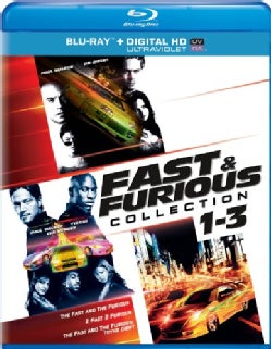 Fast & Furious Collection 1-3 (Blu-ray Disc)