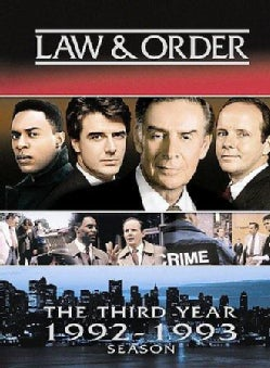 Law & Order: The Third Year (DVD)