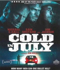 Cold In July (Blu-ray Disc)