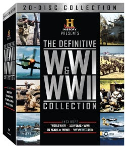 History Presents: The Definitive WWI And WWII Collection (DVD)