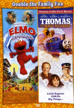Adventures of Elmo in Grouchland/Thomas and The Magic Railroad (DVD)