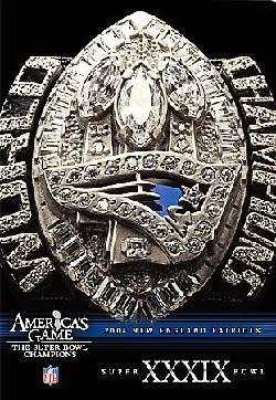 NFL America's Game: 2004 Patriots (DVD)