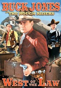 Rough Riders: West Of The Law (DVD)