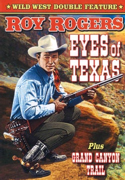 Roy Rogers Double Feature: Eyes Of Texas/Grand Canyon Trail (DVD)