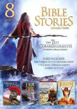 8-Movie Family Bible Stories Collection (DVD)