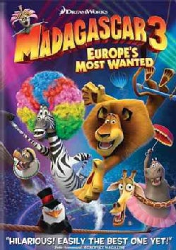 Madagascar 3: Europe&#39;s Most Wanted (DVD)
