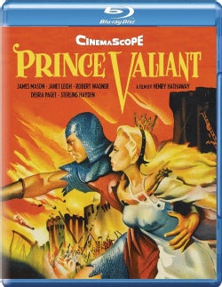 PRINCE VALIANT (1954) (BLU-RAY)